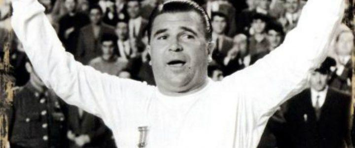 Ferenc Puskas Sang Pahlawan Hongaria
